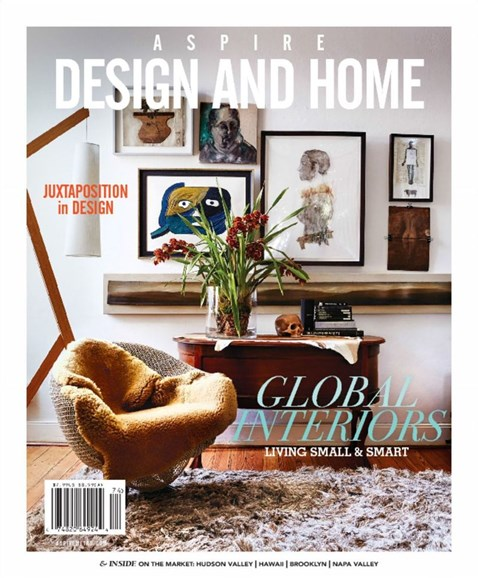 Aspire Design and Home Cover - 12/1/2017