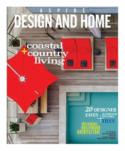 Aspire Design and Home Cover - 6/1/2017