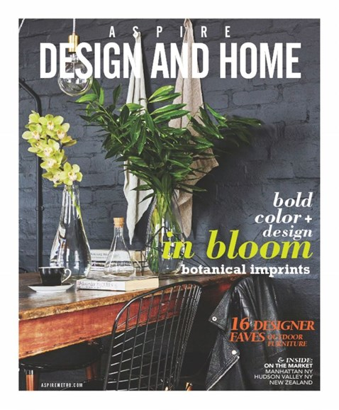 Aspire Design and Home Cover - 3/1/2017