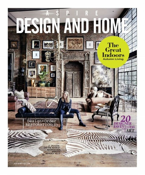 Aspire Design and Home Cover - 9/1/2017