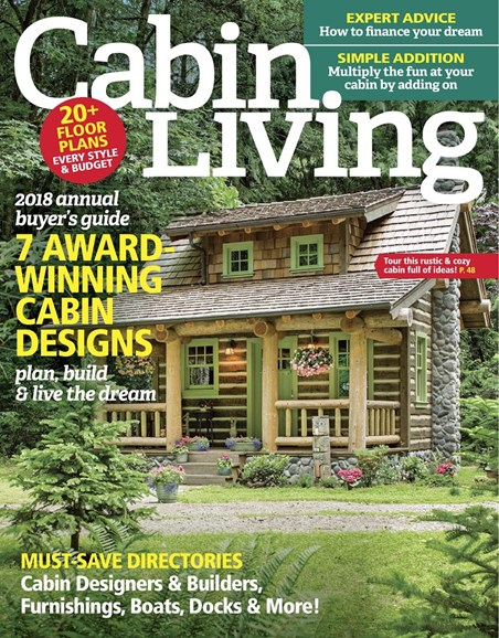 Cabin Living Cover - 1/1/2018