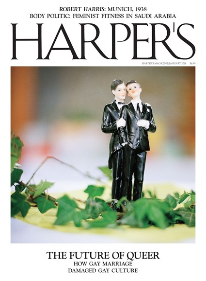 Harper's Cover - 1/1/2018