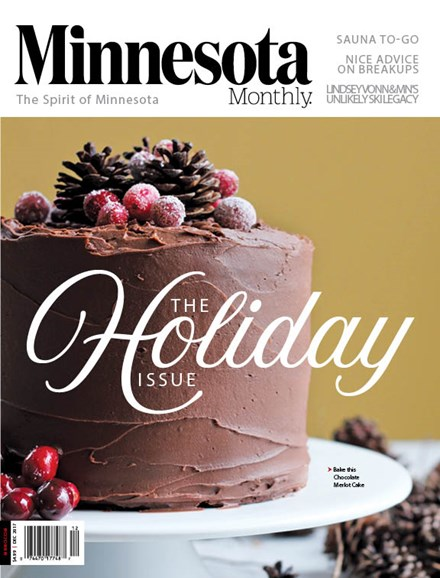 Minnesota Monthly Cover - 12/1/2017