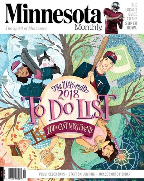 Minnesota Monthly Cover - 1/1/2018