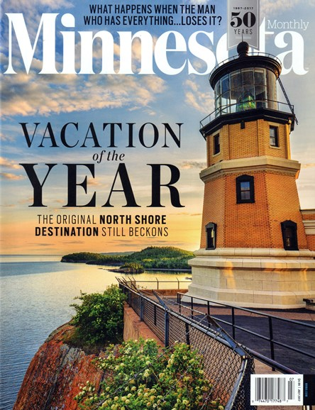 Minnesota Monthly Cover - 7/1/2017