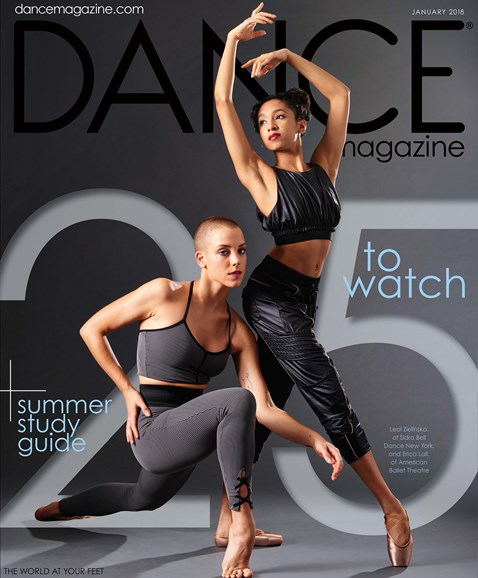 Dance Magazine Cover - 1/1/2018