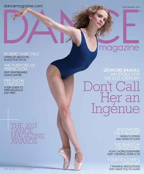 Dance Magazine Cover - 12/1/2017