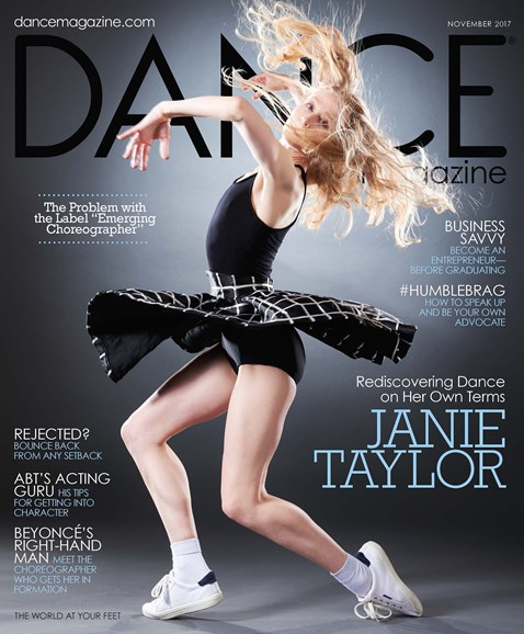 Dance Magazine Cover - 11/1/2017