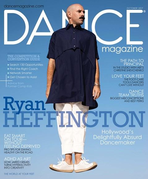 Dance Magazine Cover - 10/1/2017