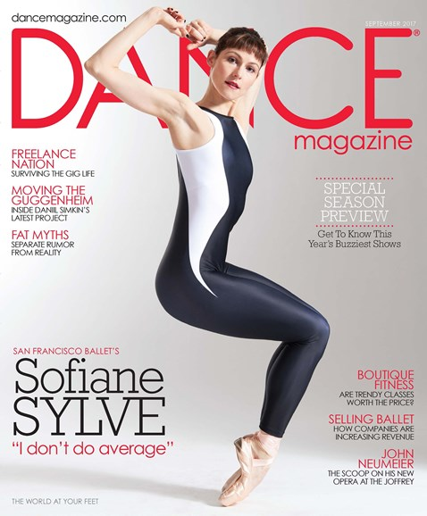 Dance Magazine Cover - 9/1/2017