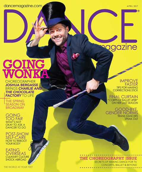 Dance Magazine Cover - 4/1/2017