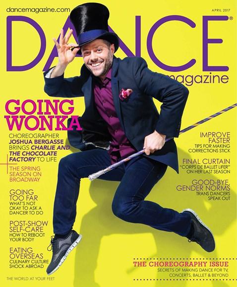 Dance Magazine Cover - 4/1/2017