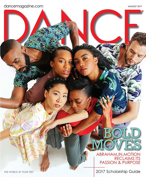 Dance Magazine Cover - 8/1/2017