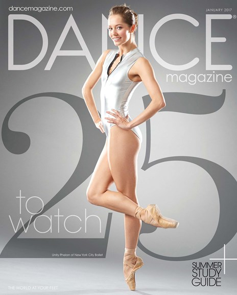 Dance Magazine Cover - 1/1/2017