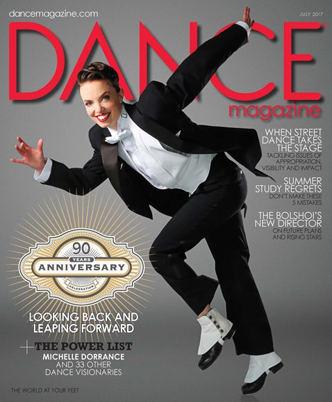 Dance Magazine Cover - 7/1/2017