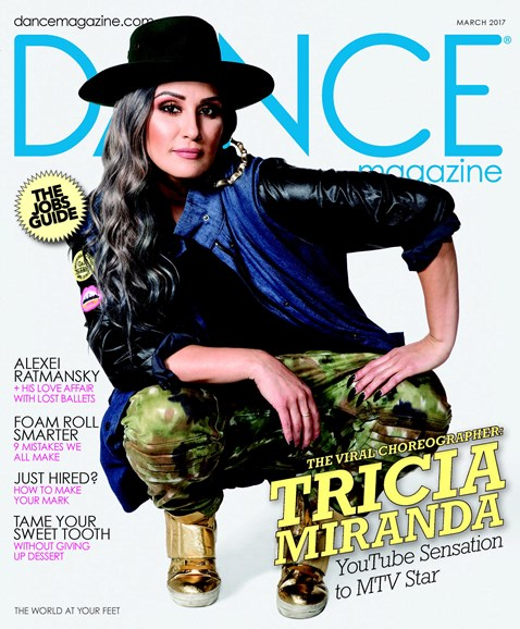 Dance Magazine Cover - 3/1/2017