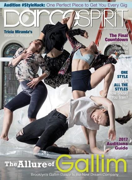 Dance Spirit Cover - 2/1/2017