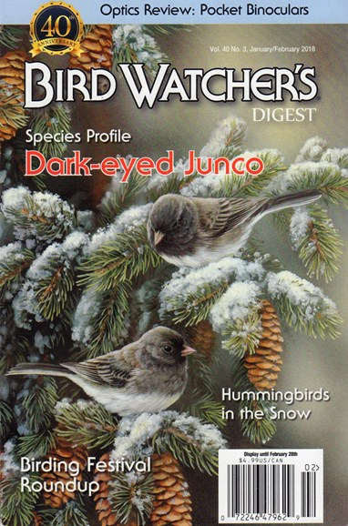 Bird Watcher's Digest Cover - 1/1/2018