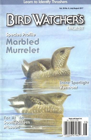Bird Watcher's Digest Cover - 7/1/2017