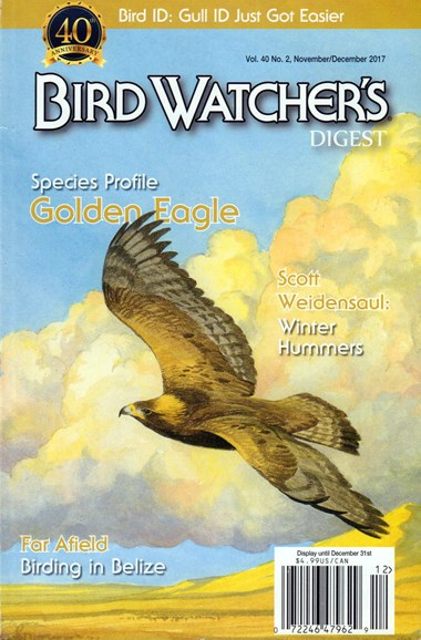 Bird Watcher's Digest Cover - 11/1/2017
