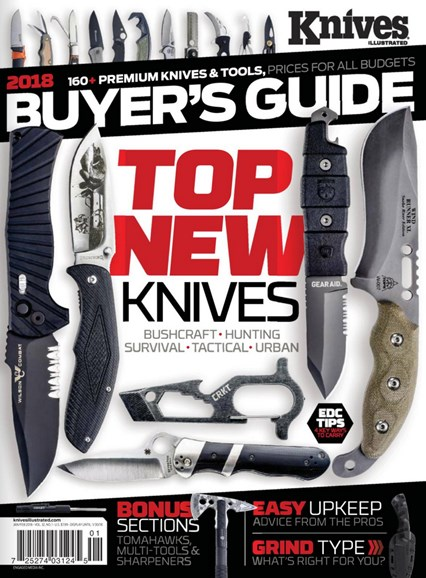 Knives Illustrated Cover - 1/1/2018