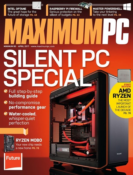 Maximum PC Cover - 4/1/2017