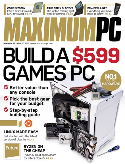 Maximum PC Cover - 8/1/2017