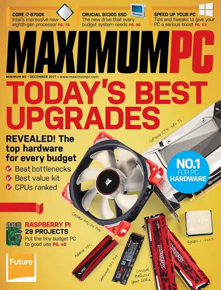 Maximum PC Cover - 12/1/2017
