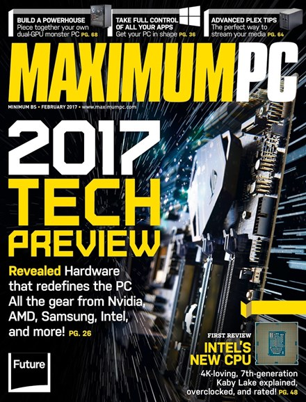 Maximum PC Cover - 2/1/2017