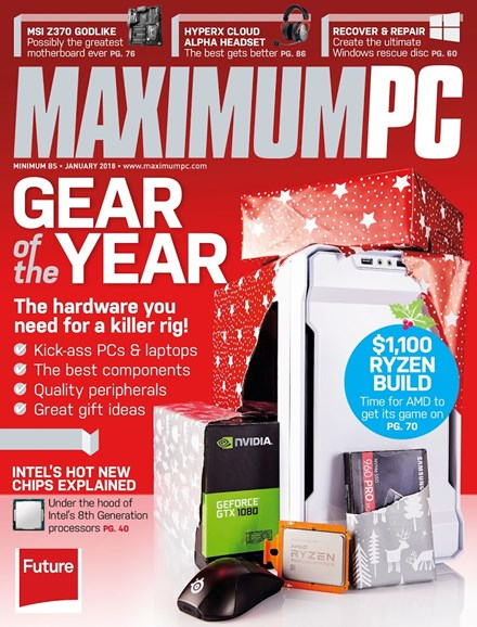 Maximum PC Cover - 1/1/2018