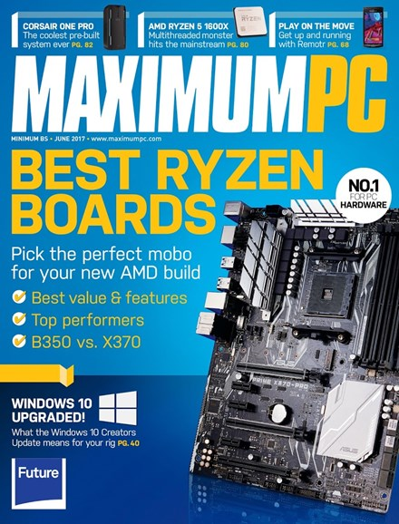 Maximum PC Cover - 6/1/2017