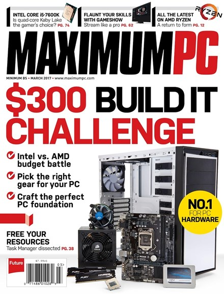 Maximum PC Cover - 3/1/2017