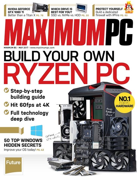 Maximum PC Cover - 5/1/2017