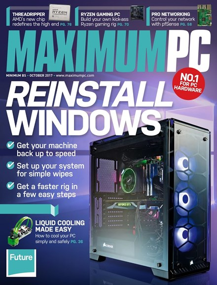 Maximum PC Cover - 10/1/2017