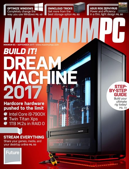 Maximum PC Cover - 9/1/2017