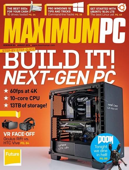 Maximum PC Cover - 8/1/2016