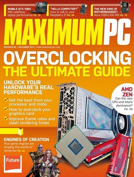 Maximum PC Cover - 12/1/2016
