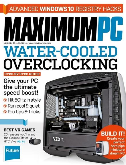 Maximum PC Cover - 7/1/2016