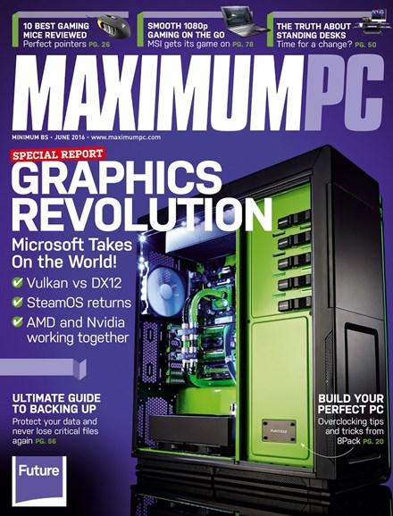 Maximum PC Cover - 6/1/2016
