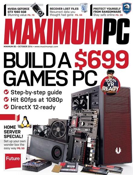 Maximum PC Cover - 10/1/2016