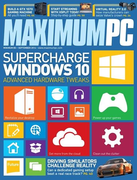 Maximum PC Cover - 9/1/2016