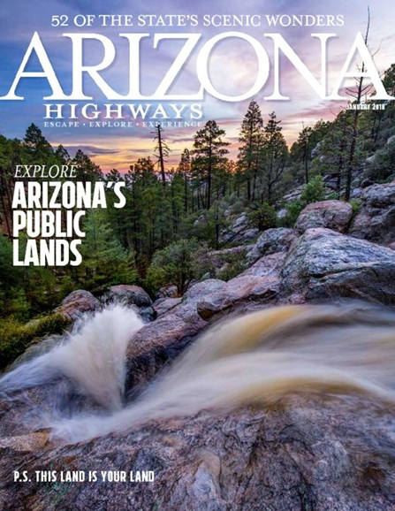 Arizona Highways Cover - 1/1/2018