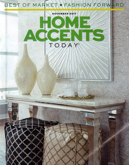 Home Accents Today Cover - 11/1/2017