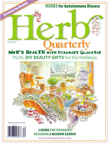 Herb Quarterly Cover - 12/1/2017