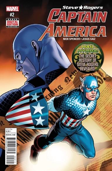 Captain America: Steve Rogers Cover - 8/1/2016