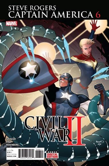 Captain America: Steve Rogers Cover - 12/1/2016