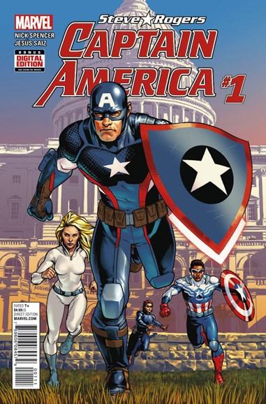 Captain America: Steve Rogers Cover - 7/1/2016