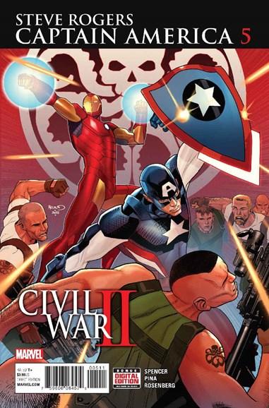 Captain America: Steve Rogers Cover - 11/1/2016