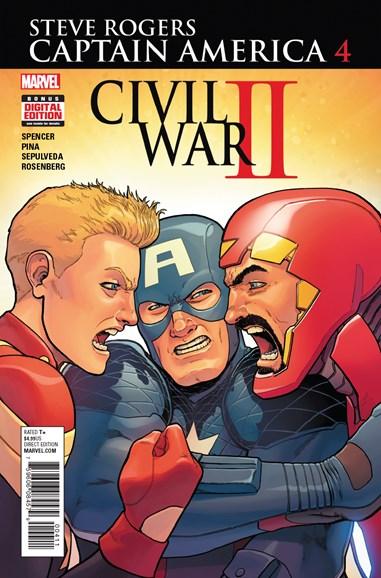 Captain America: Steve Rogers Cover - 10/1/2016