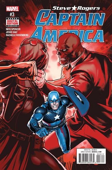 Captain America: Steve Rogers Cover - 9/1/2016